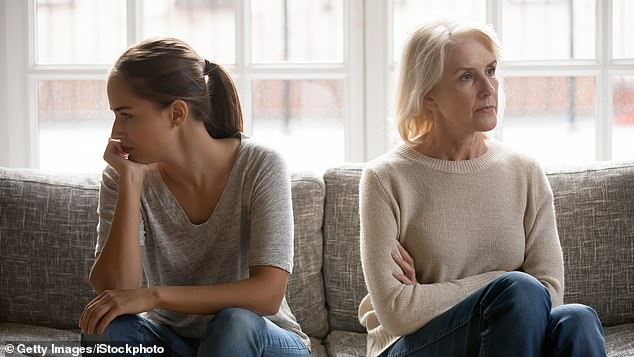 Alice Smith, 45, said it was like 'being in prison' when she moved back in with her mother when she returned to the UK after 11 years in Australia (stock image)