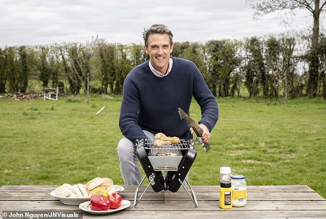 Tom Rawstorne (pictured) has shared six of the best portable BBQs for the May bank holiday, as disposable onestake half a millennium to decompose in landfill