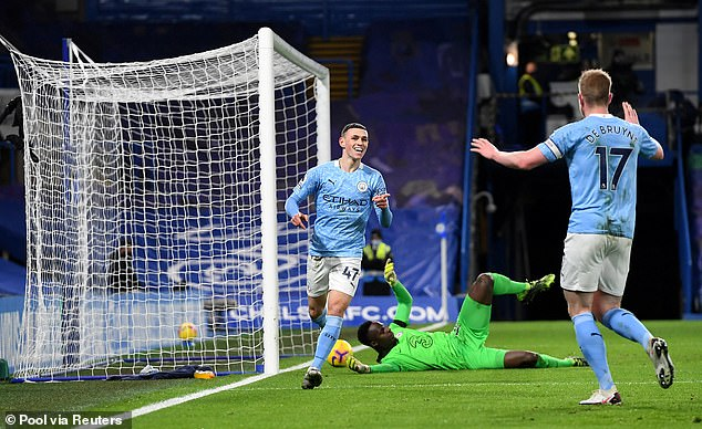 Only De Bruyne with 25 has more goal involvements for City this term than Foden