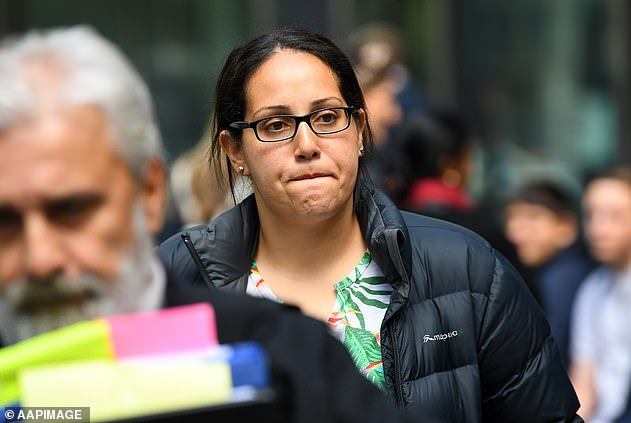 Lydia Abdelmalek had remained free in the community on appeal bail before new allegations surfaced
