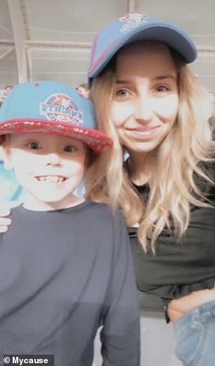 He was on life support at Queensland's Children's Hospital for the week. Family turned it off last Friday