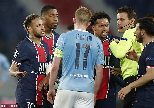PSG lost their discipline as Manchester City took control of the Champions League semi-final