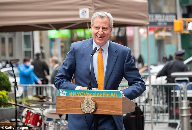 NYC Mayor Bill de Blasio had told the NYPD to 'rethink' its contract with Boston Dynamics over the Digidog
