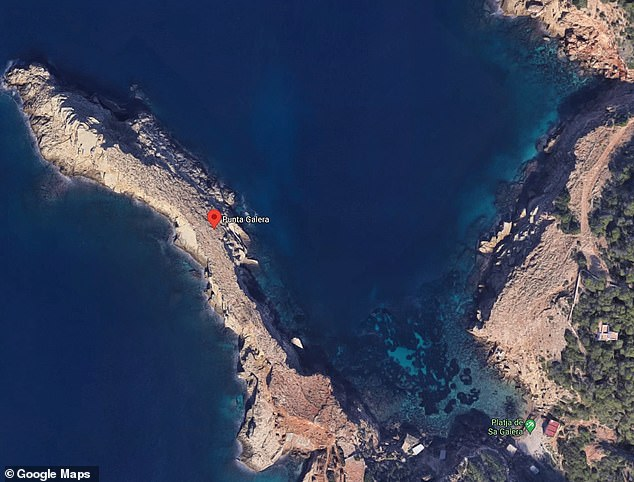 A 35-year-old British man was pulled unconscious from the ocean at Punta Galera, a cove in Ibiza, around 6.15pm on Wednesday after practising underwater photography