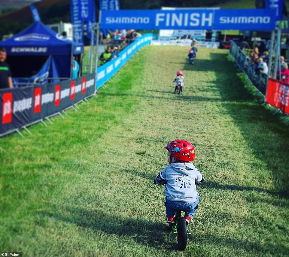 It's eyes on the prize at British Cycling's National Downhill Mountain Bike Series at Llangollen