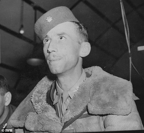 Icon: He playsreal-life Air Force hero Major John Egan in the miniseries, who after serving in WWII and also fought in Korea before his death in 1961