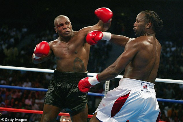 Mike Tyson and Lennox Lewis have history after their brutal 2002 heavyweight clash