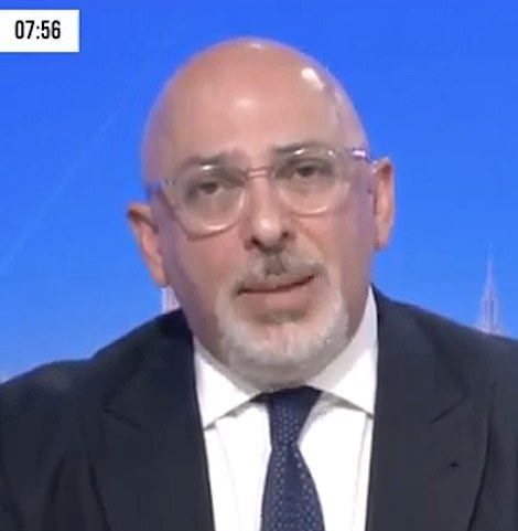 Vaccines minister Nadhim Zahawi said data showed England was on track for a 'further' reopening of the economy on May 17 - when pubs and restaurants will reopen for indoor service and foreign travel resumes