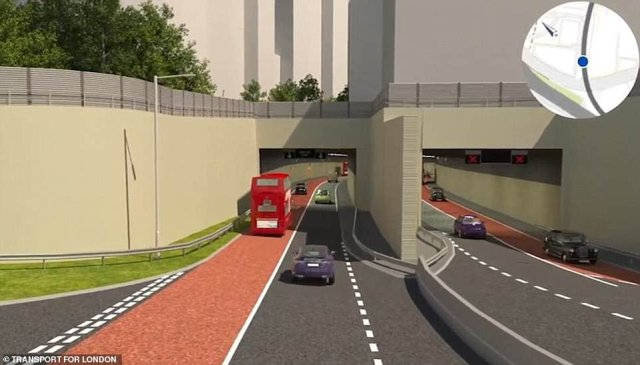 Permission for the tunnel had been delayed for nearly a year because of calls for an air quality impact assessment to be done