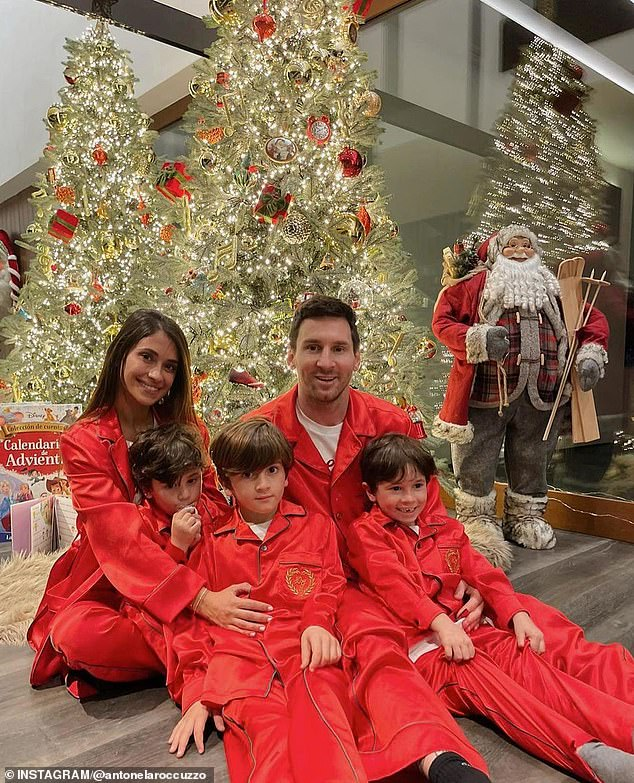 Messi, his wife Antonela Roccuzzo and three sons Thiago, Mateo and Ciro set to stay in Spain