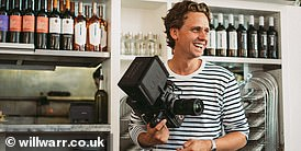 The Duke and Duchess of Cambridge chose London-based advertising filmmaker Will Warr, pictured, to capture their tenth anniversary video