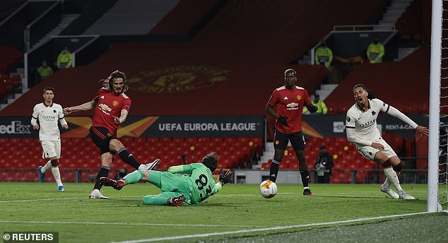 He was on the scoresheet twice as he helped United thrash Roma 6-2 in the Europa League