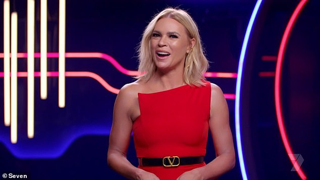 The secret's out? We're only a few episodes in, but the top three contestants on Big Brother Australia may have already been leaked by a production insider. Pictured: host Sonia Kruger