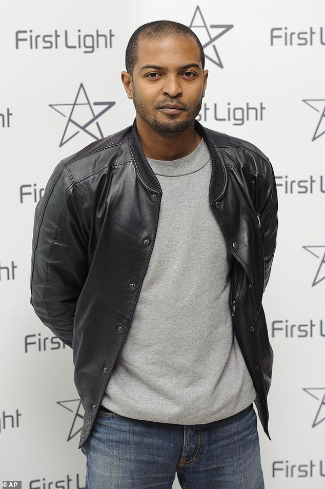 Accused:Kaya's statements appear in response to news that Kidulthood's Noel Clarke, 45, was suspended by Bafta after 20 women accused him of sexual harassment, groping and bullying, with the claims levelled against him in The Guardian