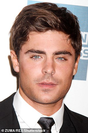 Getting fans talking: Zac found himself all the rage on Twitter last week after sparking surgery rumors by revealing a seemingly new appearance.  Photographed in 2013