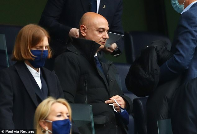 Chairman Daniel Levy was dealt a big blow in his search for a new Spurs boss on Friday