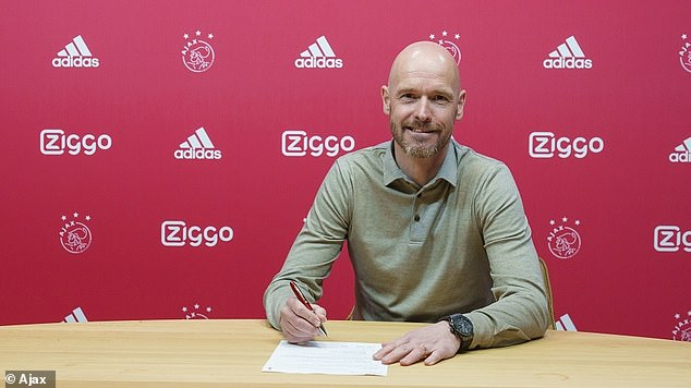 Ajax boss Erik ten Hag agreed a contract extension with the Dutch giants on Friday morning