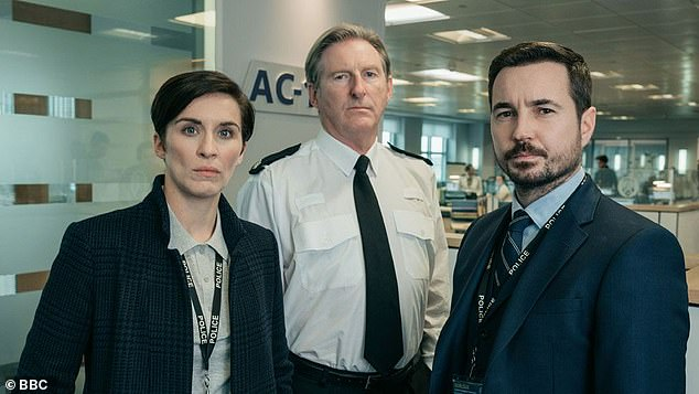 Martin Compston stars as DI Steve Arnott in the drama alongside Vicky McClure as DI Kate Fleming and Adrian Dunbar as Superintendent Ted Hastings