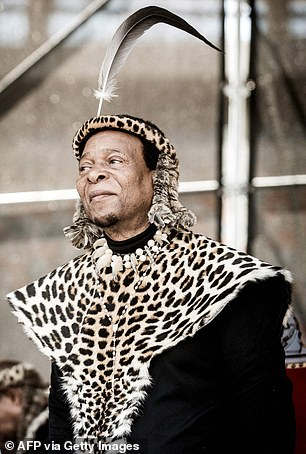 She was made regent after the death of her husbandKing Goodwill Zwelithini in March