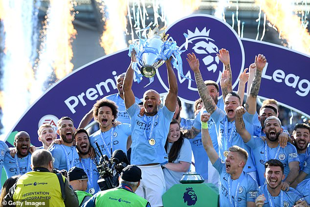 City are five points away from reclaiming the Premier League title after last winning it in 2019