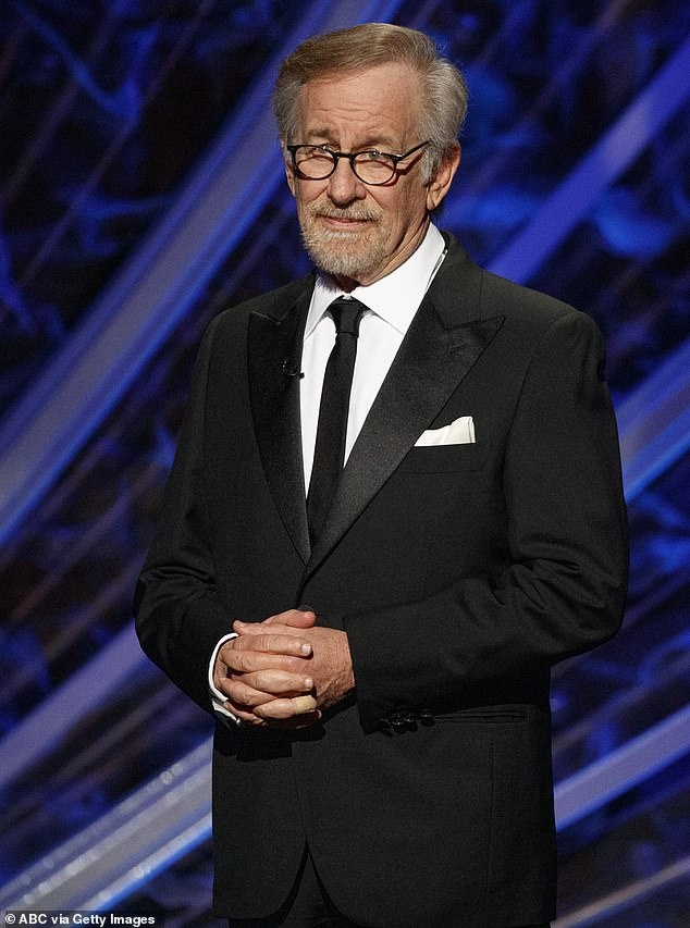 New meaning: During an interview with IndieWire, Spielberg noted that he was happy to be introducing the film to a new generation; the filmmaker is pictured at the 92nd Academy Awards in February of 2020