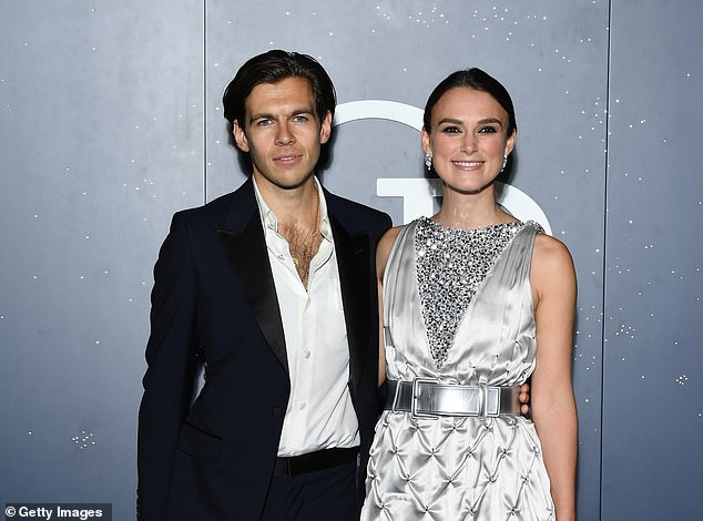 Decision:Keira said six years ago she was considering the move but was too 'scared' to go through with it (pictured with James in September 2018)