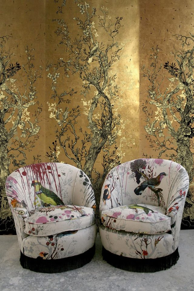 If you want gold walls, then this is the one.Homemaking, at its core, is about reclaiming ownership of a space