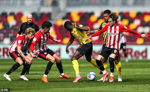 With promotion already confirmed Watford couldn't break through against the west Londoners
