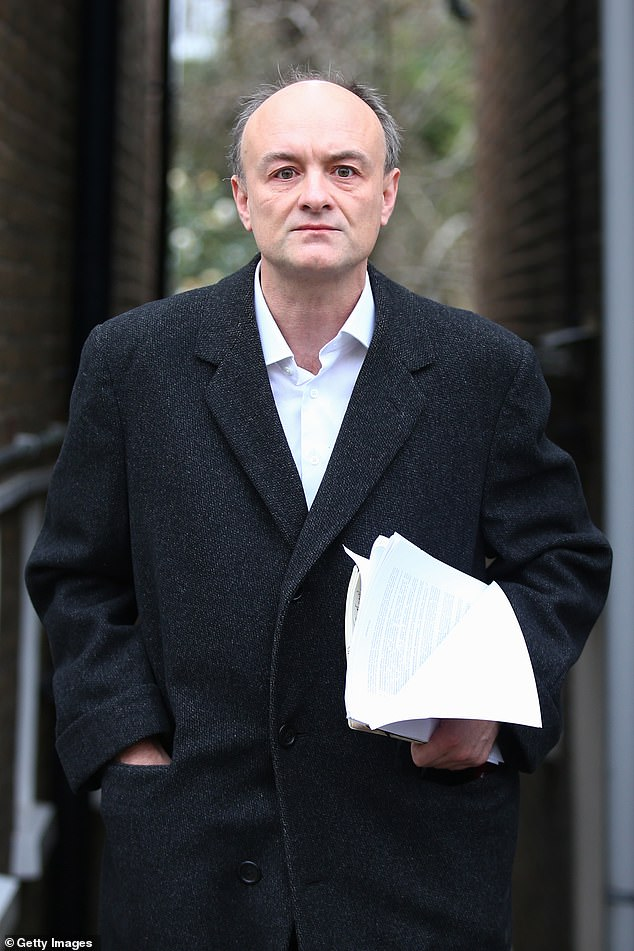 Last week it was reported that MI5 had tracked WhatsApp messages and SIM cards, and determined that Dominic Cummings was responsible for divulging Britain was about to be plunged into a second lockdown. But an ally of Cummings tells me: 'If that's what they think, come and arrest him. And see where that goes'