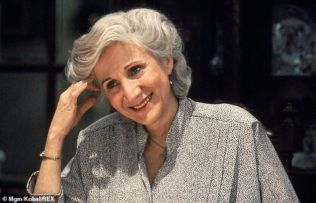 Dukakis won an Oscar for her role as Rose in the 1987 film Mooonstruck (above) where she starred as Cher's mother