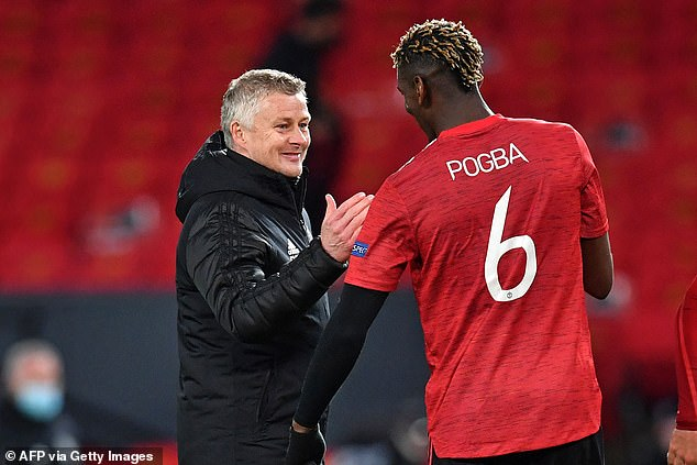 United boss Solskjaer however believes the club are winning the battle to convince Pogba