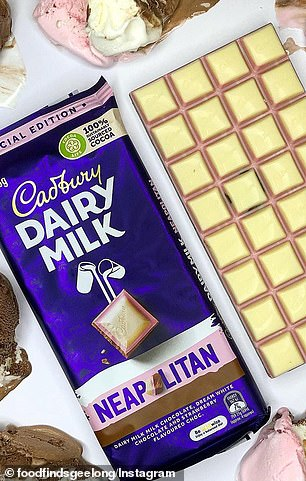 Earlier this year, Cadbury unveiled Neapolitan-flavoured chocolate blocks