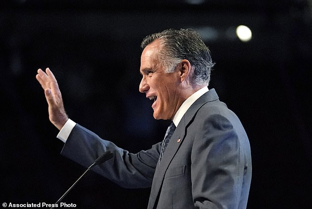 Romney has faced negative backlash and a censure threat by the GOP delegation for his votes to impeach Donald Trump earlier this year