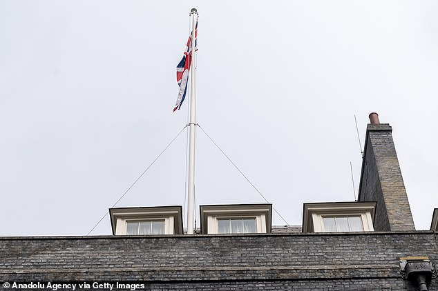 The flat saga started in 2020, when Mr Johnson grew alarmed by the rising costs of refurbishments to the Downing Street flat at No11, pictured, that he shares with Ms Symonds