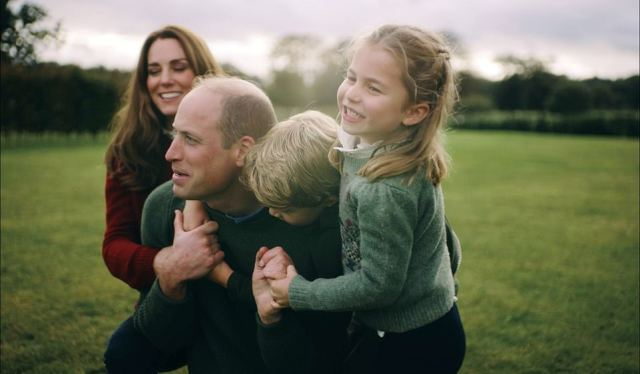 The new photograph follows the release of a video of Charlotte with her brothers and their parents to mark the Duke and Duchess of Cambridge's 10th wedding anniversary last week