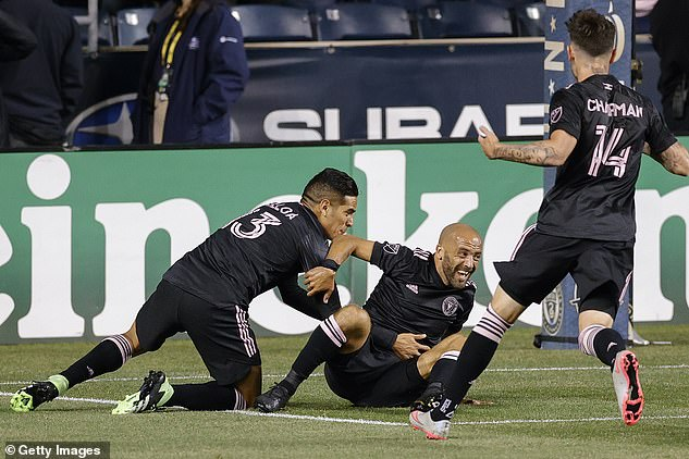 He claims he has 'got off to a good start' after securing his first win overPhiladelphia Union