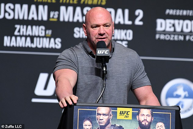 UFC president Dana White did not mince his words when addressing YouTuber Jake Paul