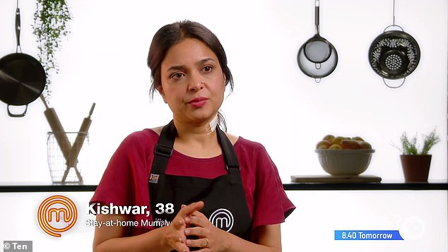 Inspiration: 'Every time Poh cooks something, it's delicious and it's amazing. And it is, to me, the best food ever in that kitchen. Poh! You're my dream come true,' Kishwar said on camera