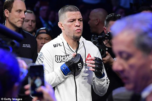 Paul has also called out Nate Diaz saying he would 'obliterate' the 36-year-old fighter