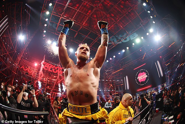 Jake Paul is coming off a first-round stoppage victory over UFC fighter Ben Askren