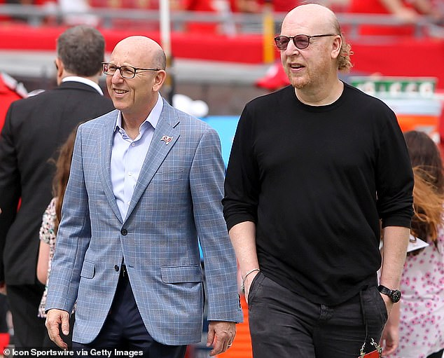 Joel Glazer (left) and Avram Glazer (right) have been the subject of criticism from United fans