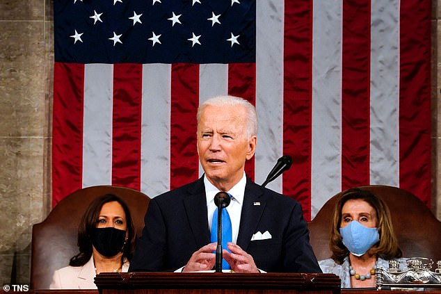 Biden outlined in a joint session address Wednesday raising taxes ¿ including on individuals, corporations and capital gains ¿ to funds trillions in proposed spending. The corporate tax rate he wants to raise to 28 per cent from 21 per cent