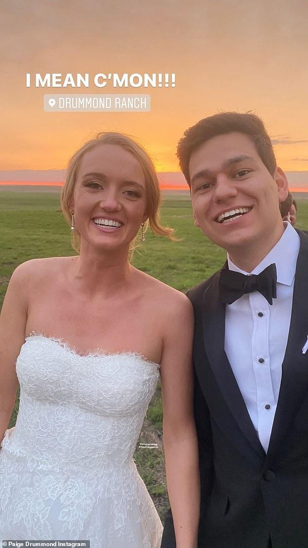 I do!  Alex got married to her fiance Mauricio Scott on Saturday