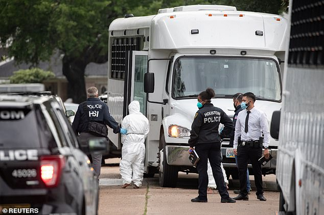 Police responding to reports of a kidnapping said on Friday they had found more than 90 people crammed into a two-story suburban Houston home and suspected it was being used in a human smuggling operation