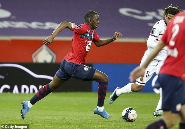 The 22-year-old has an impressive engine and is comfortable receiving the ball in tight spaces