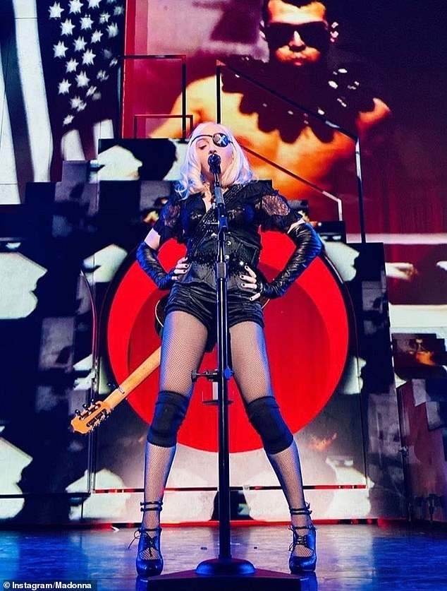 Ready for more truth and challenges?  The self-taught superstar's 11th concert tour was prematurely terminated due to the coronavirus, and she was forced to cancel 14 shows between 2019-2020 due to persistent knee and hip injuries (pictured from October 2019)