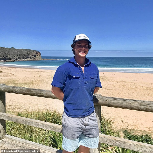 Mr Foley's LinkedIn profile states he is studying a Bachelor of Medical Science and Doctor of Medicine at the University of Newcastle