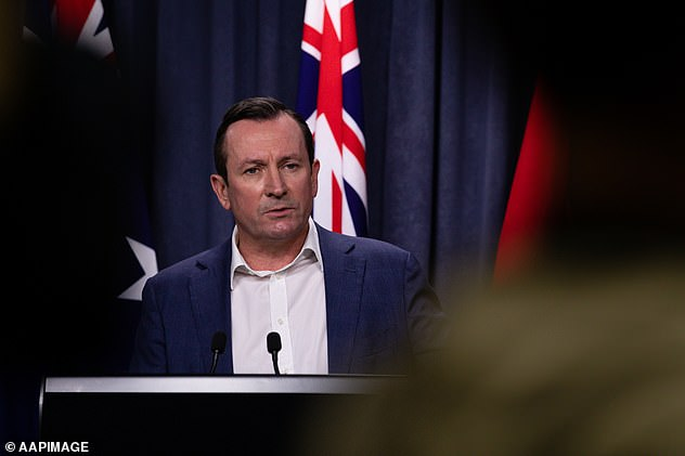 WA Premier Mark McGowan (pictured) warns masks could become a 'long-term measure'