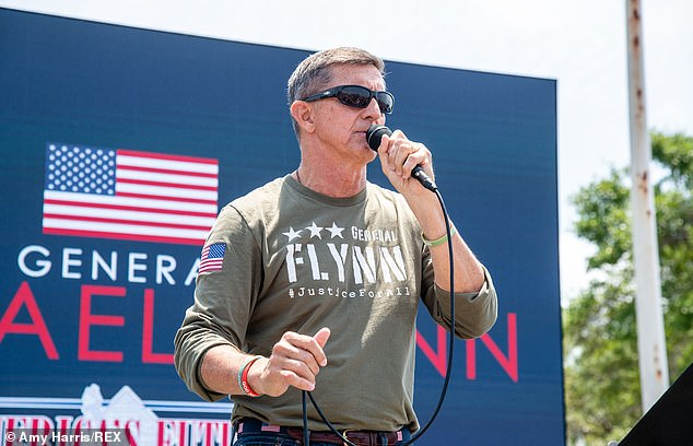 Flynn is still making speeches and appearing at various GOP rally's including the Save America Patriot Rally in Florida last weekend
