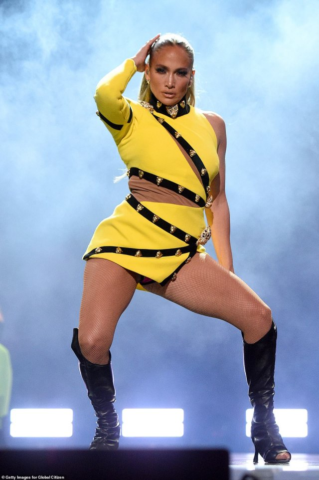 JLo performs: Jennifer Lopez performs at the Global Citizen VAX Live concert